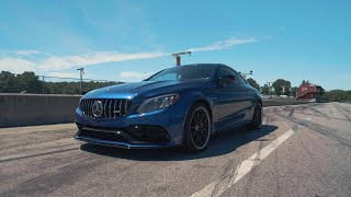 homepage tile video photo for Mercedes-AMG C63 S at Lightning Lap 2019