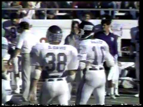NCAA Football - 1983 - SWC Game Of Week - Texas Longhorns Vs TCU Horned Frogs - 4th Qtr