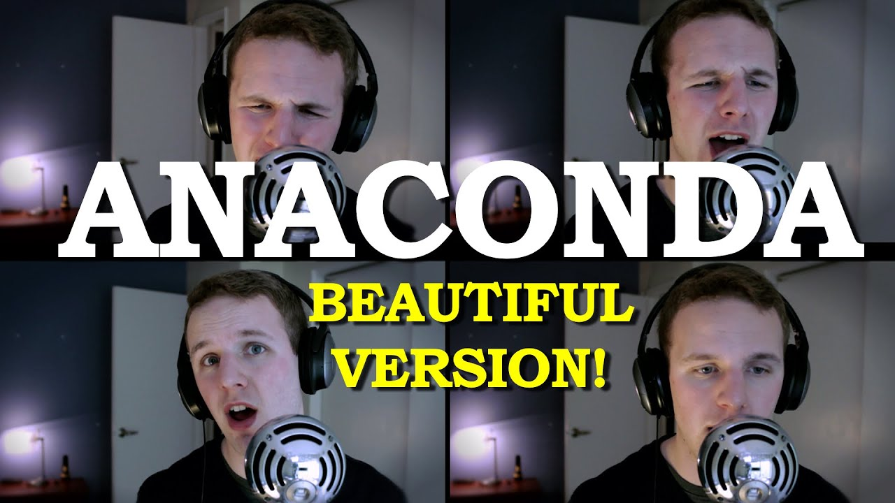 Anaconda PARODY COVER! Pop Song PIANO BALLAD (Best Cover ...