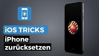 iPhone auf Werkseinstellung zurückzusetzen ohne PC & neu installieren | iPhone-Tricks.de