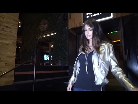 Kim K BFF Brittny Gastineau Dines At The District, Asked About The 'Kardashian Curse'