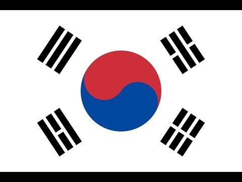 Как нарисовать корейский флаг