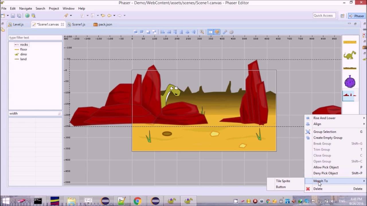 Phaser Scene Builder - Phaser 2 - HTML5 Game Devs Forum