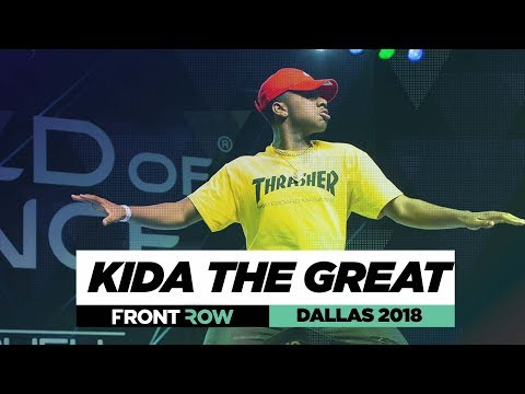 Kida The Great | FrontRow | World of Dance Dallas 2018 | #WODDALLAS18