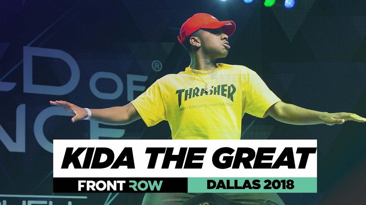 Kida The Great | World of Dance Dallas 2018
