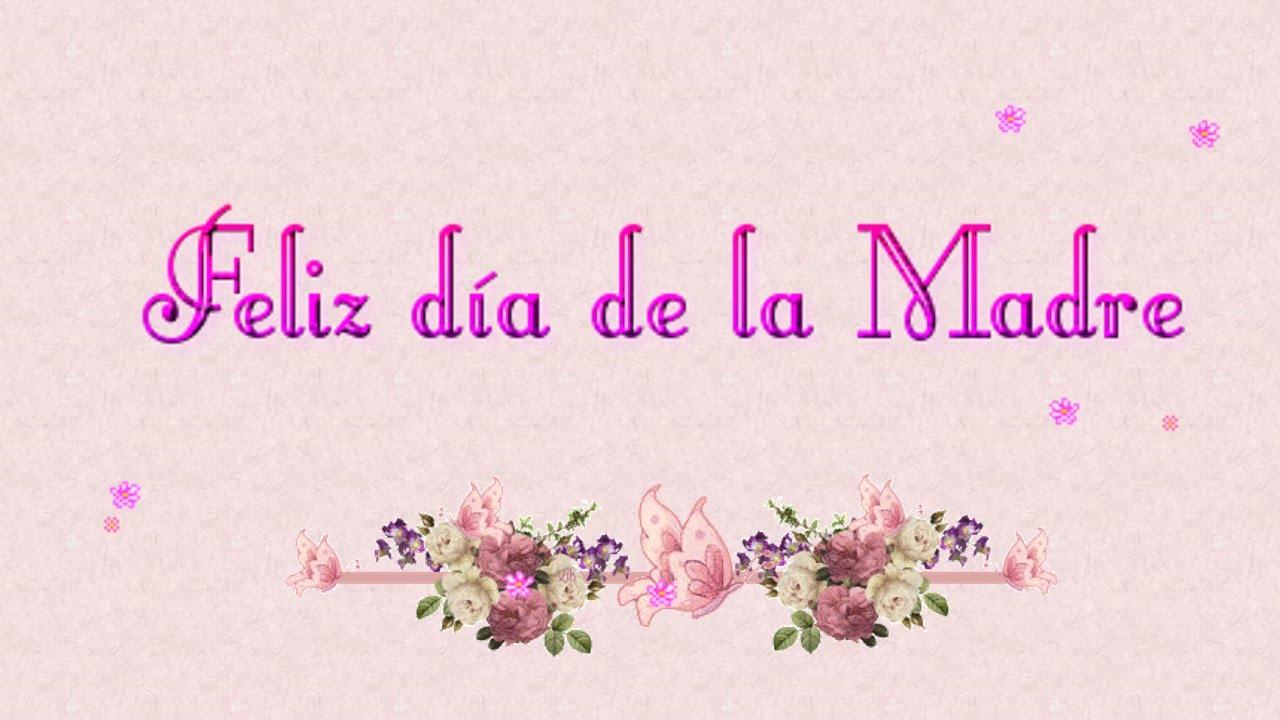 Wallpaper Dia De Las Madres Im 225 Genes D 237 A De La: Tarjeta Animada Del D 237 A De