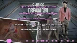 Dream Girl - SHINee (Karaoke/Instrumental)