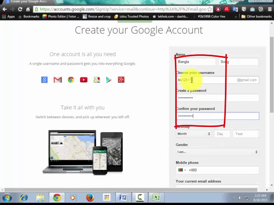 Gmail Sign Up _ I can Sign up many Gmail ID By One Gmail ID