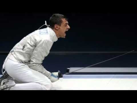Fencer Aron Szilagyi Of Hungary Wins Olympic Gold Medal in Mens Individual Saber