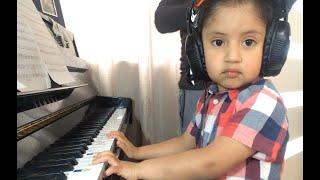 Shape of You by Ed Sheeran - (Cover dos violines y piano) Niño de 4 años