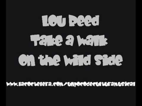 the velvet underground take a walk on the wild side lyrics. Black Bedroom Furniture Sets. Home Design Ideas