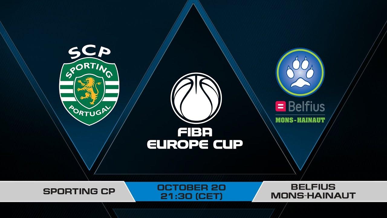 LIVE - Sporting CP v Belfius Mons-Hainaut | FIBA Europe Cup 2021-22