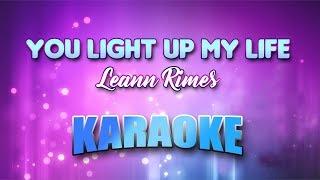 Leann Rimes - You Light Up My Life (Karaoke version with Lyrics)