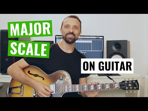 Guitar Tip #3 - Major Scale in Position on Guitar