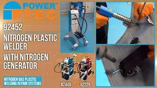 92452   Nitrogen Plastic Welder with Generator
