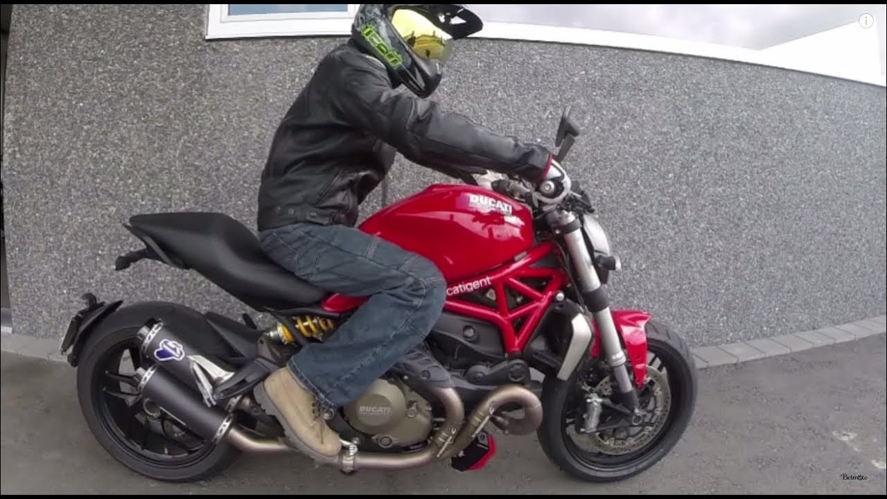 Ducati Monster   Termignoni Exhaust Review