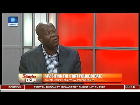 State Of Origin Should Be Removed From Nigeria's Constitution - Aghanya Pt 1 | Sunrise Daily |