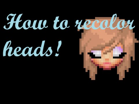 Graal GFX : How to recolor heads | Kyuuri