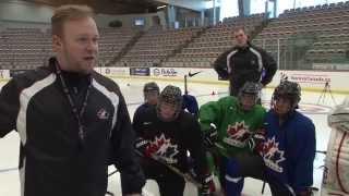 U17: Players take to ice for skills testing