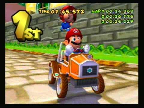 Mario Kart: Double Dash - 2003 - 100cc: Mushroom Cup