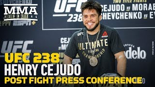 UFC 238: Henry Cejudo Post-Fight Press Conference - MMA Fighting