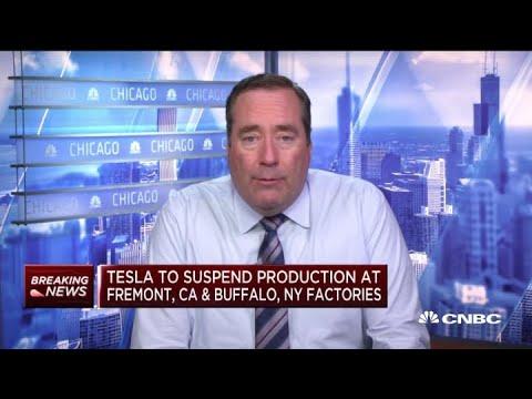 Tesla to suspend production due to coronavirus at Fremont, CA, & Buffalo, NY facilities