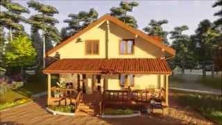 Дома из бруса под ключ в Новосибирске.(Так мы прорабатываем индивидуальные проекты деревянных домов. Подписывайся на наш канал ▻ https://goo.gl/VMAl7C..., 2015-09-24T06:10:51.000Z)
