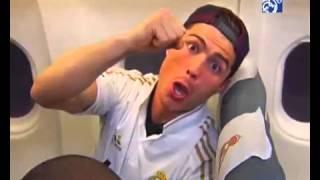 Реал Мадрид в самолете