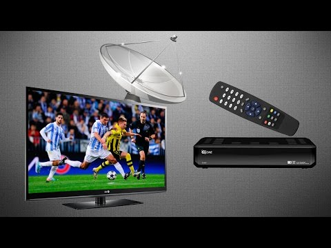 Как подключить спутниковый тюнер к телевизору
