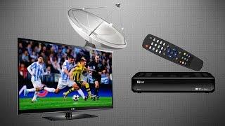 Как правильно подсоединить спутниковый ресивер к телевизору и настроить каналы(, 2015-07-09T13:43:35.000Z)