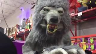 Декорации на хэллоуин в Америке, 2017. Halloween Decorations (homedepot), 2017
