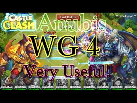 Castle Clash Anubis In Wretched Gorge 4_ Very Useful!
