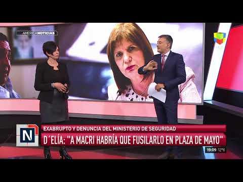 Denuncia penal contra DElía tras pedir que fusilen a Macri en Plaza de Mayo