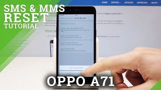 Find more info about oppo a71: https://www.hardreset.info/devices/oppo/oppo-a71/hardreset/first-method/ in the above video presentation, you will be able to ...