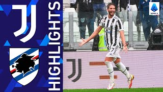 Juventus 3-2 Sampdoria | Juve get their first home win of the season | Serie A 2021/22