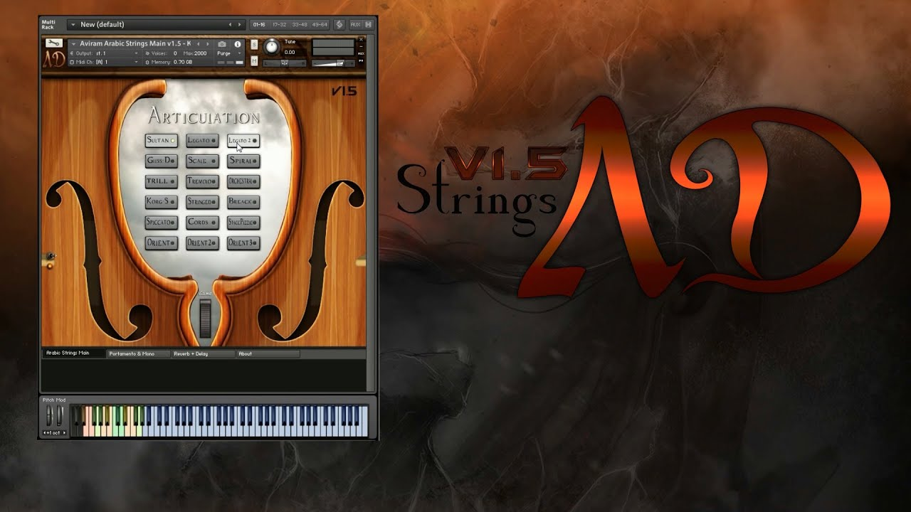 KVR: Aviram Arabic Strings by Aviram Dayan Production