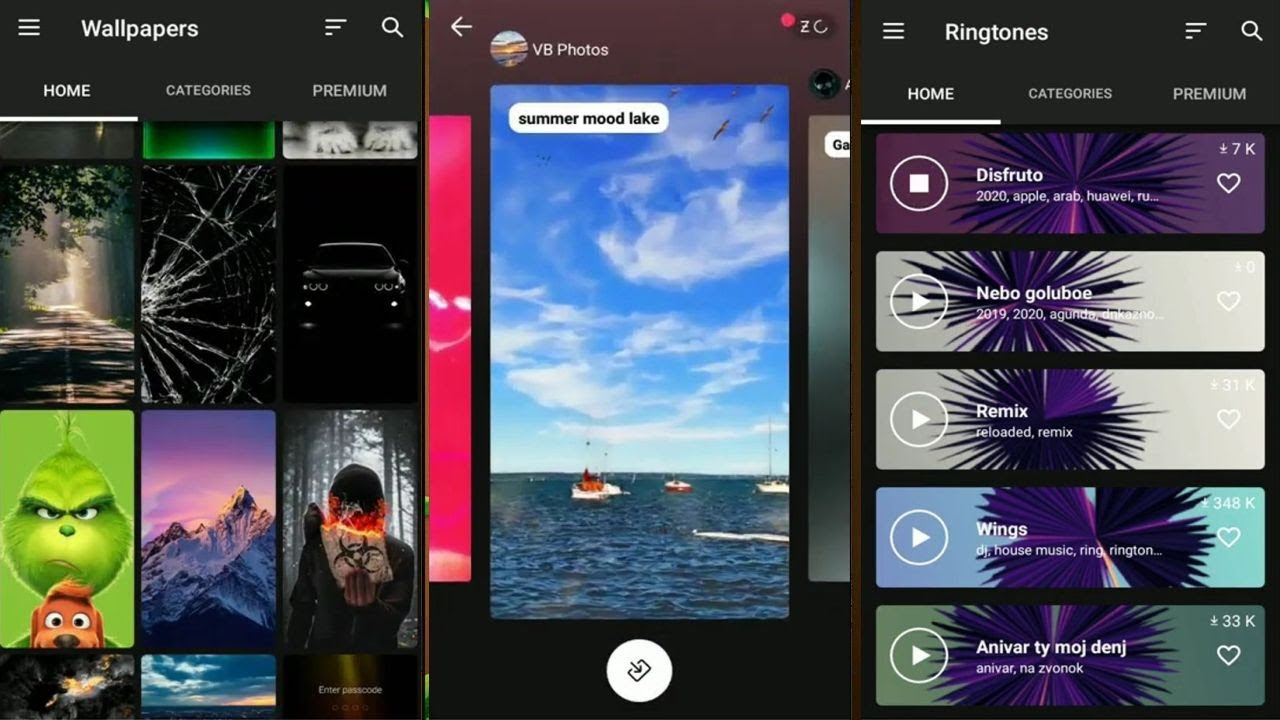 Zedge By Zedge Wallpapers And Ringtones App For Android And Ios Youtube
