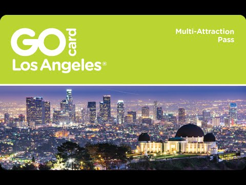 Go Los Angeles® Card - Things to Do in Los Angeles on Vacation