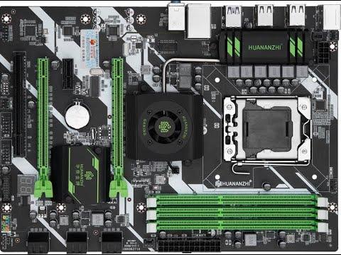 HUANANZHI X58 LGA 1366.  Распаковка, сборка, тестирование. Часть 1. радость и печалька...