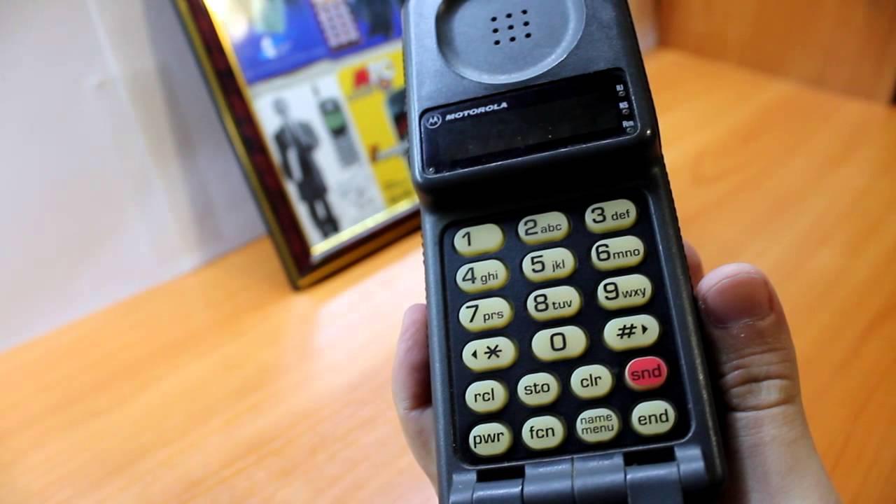 Обзор ретро телефона Motorola MicroTac DPC 550. Винтажный ретро сотовый телефон!