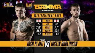 BAMMA 33: Josh Plant vs Justin Burlinson