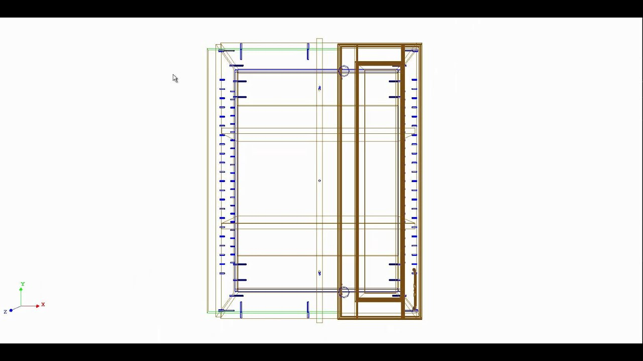 Corner Upper Cabinet Blind Corner Wall Cabinet Intro Youtube