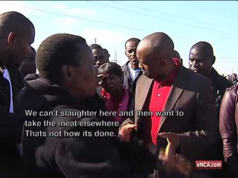 Modise calls for calm in Marikana