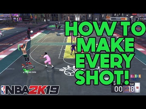 NBA 2K19: How To Make Every Shot! How To Shoot! Shot Meter Tutorial!