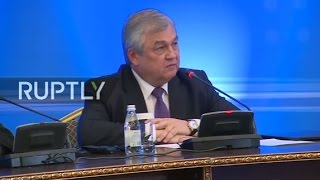 LIVE  Intra – Syrian talks in Astana   Press conference
