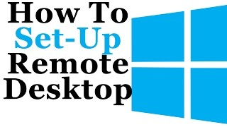 Windows 7 Tutorial - Wie Die Einrichtung Eines Remote Desktop Connection