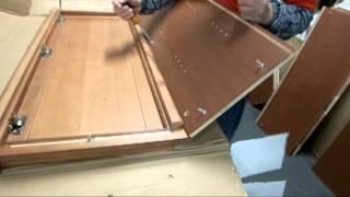 Team Efforts Cabinet Assembling --- Designer Series Diagonal Corner Wall Cabinet Wdc2440  Wdc2430