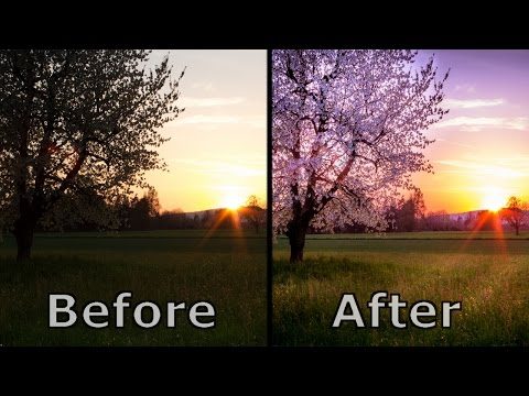 Landscape Photography Editing and Post Processing - Lightroom 6 cc 2017 Tutorial In Depth Explained