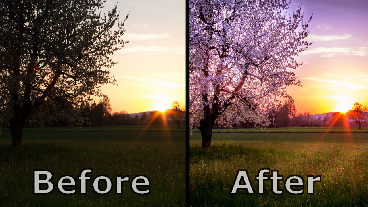landscape photography editing and post processing