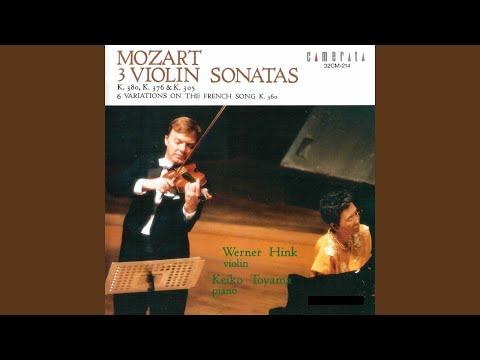Violin Sonata No. 36 in E-Flat Major, K. 380: II. Andante con moto